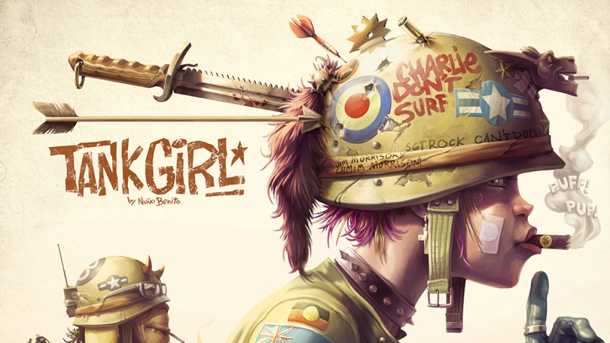 Tank girl tribute