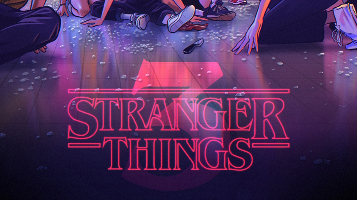 Stranger Things 3 - Fanart