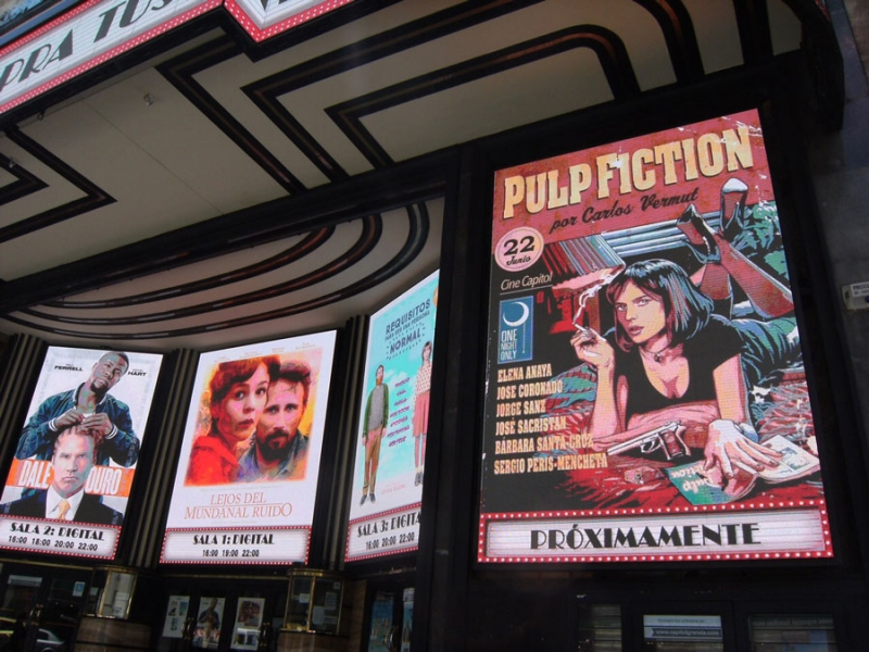 One Night Only: Pulp fiction